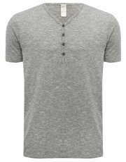 Loungewear Y-neck t-shirt