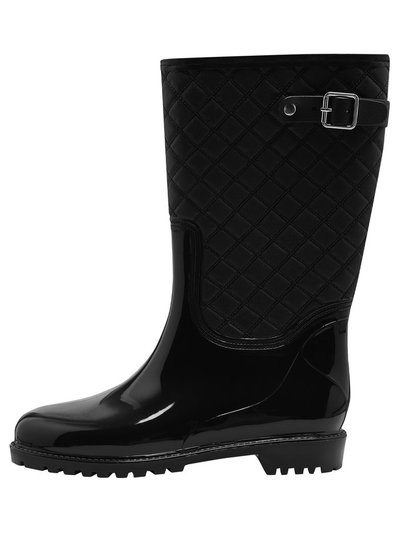 Wellie quilted wellington