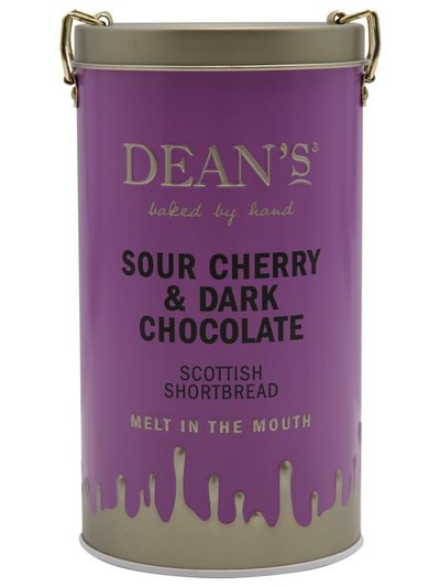 Dean's flavoured Scottish shortbread tin