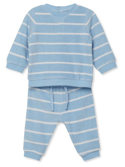Terry two piece jogger and top set (Newborn-18mnths)