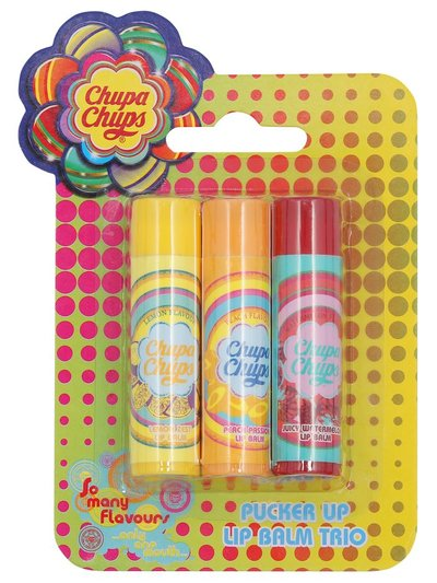 Swizzles Chupa Chups lip balm three pack