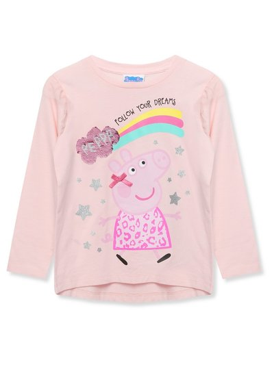 Peppa Pig two way sequin t-shirt (18mths-5yrs)
