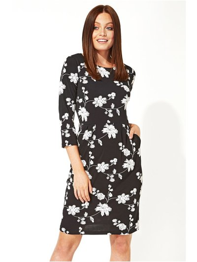 Roman Originals floral puff print dress