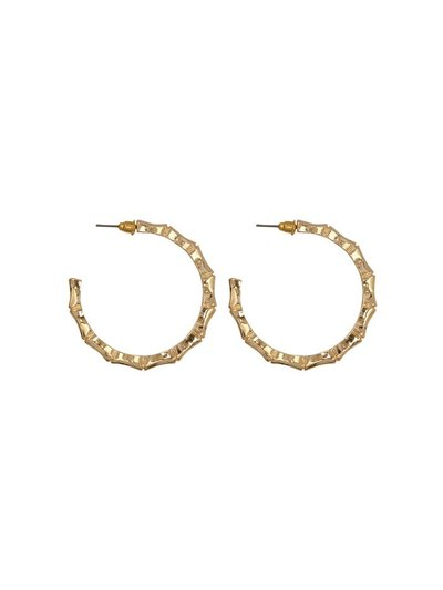 Teen chunky hoop earrings