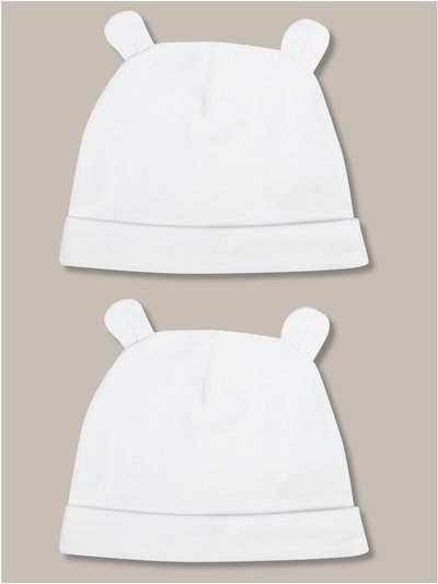 Bear hats two pack (newborn-24mths)