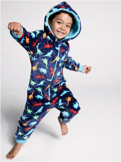 Dinosaur fleece onesie (18mths-6yrs)