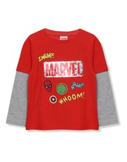Two way sequin Marvel Avengers top (3-10yrs)
