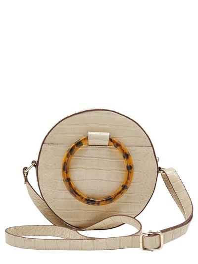 Circle shoulder bag
