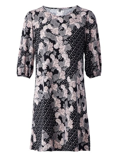 Izabel paisley print shift dress