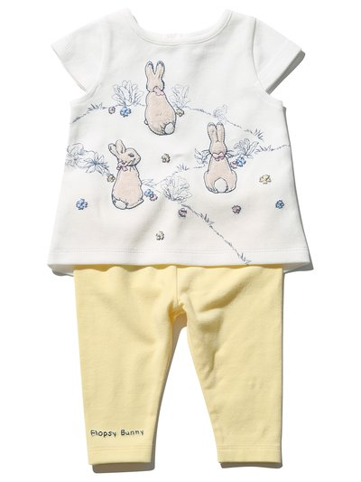 Peter Rabbit Flopsy Bunny outfit set (Newborn - 3 yrs)