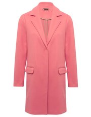 Pink tailored coat