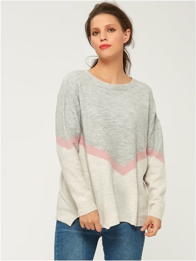 Soft chevron jumper