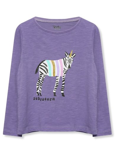 Zebracorn long sleeve t-shirt (3-12yrs)