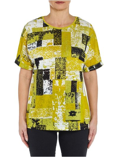 VIZ-A-VIZ colourful top
