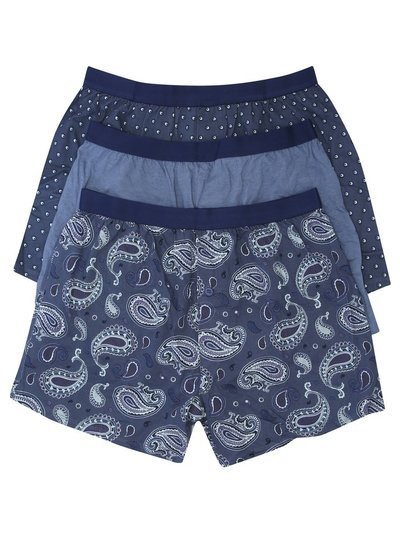 Paisley boxers three pack