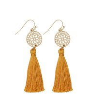 Muse tassel earrings