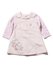 Mouse pinny dress and bodysuit set