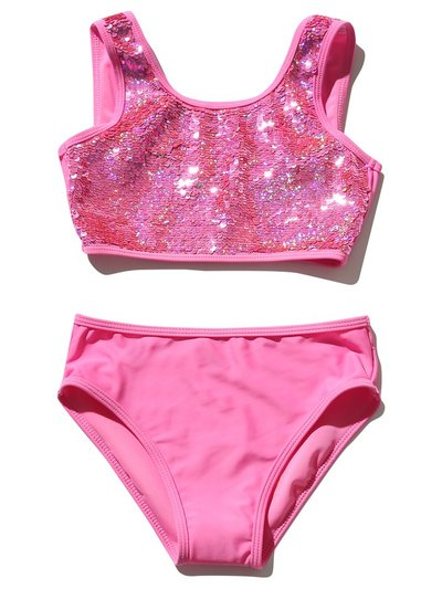 Two way sequin bikini (5 - 12 yrs)