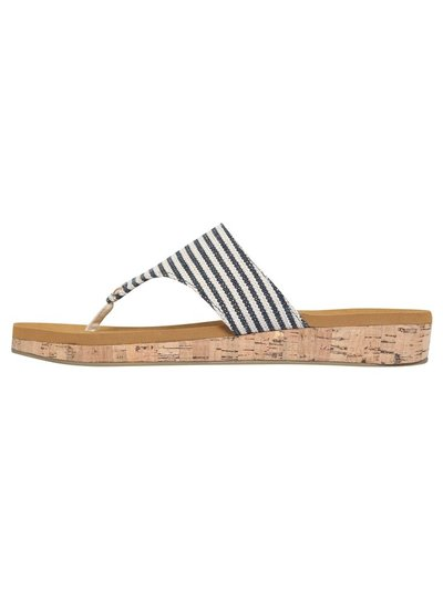 Sprung toe post sandal