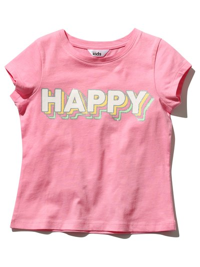 Happy slogan t-shirt