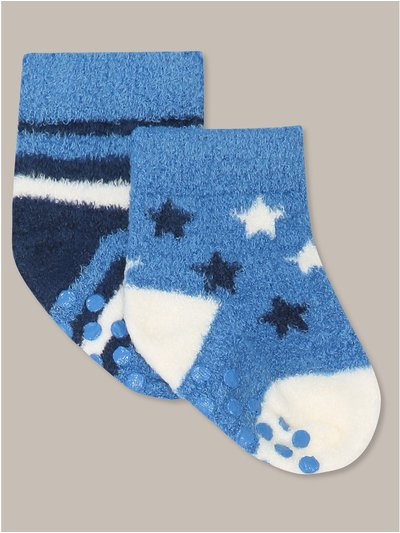 Star stripe socks two pack
