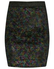 Teens' shimmer tube skirt