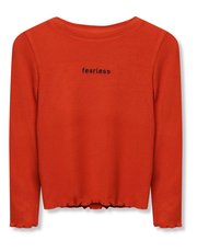 Fearless slogan t-shirt (3-12yrs)