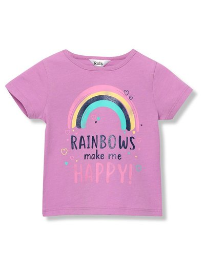 Slogan rainbow t-shirt (9mths-5yrs)