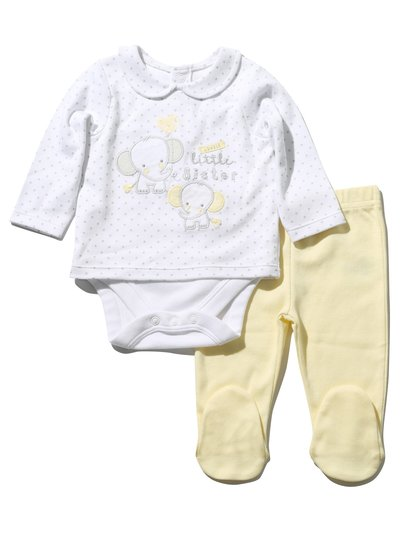 Little sister body and leggings set (Newborn - 1 yr)