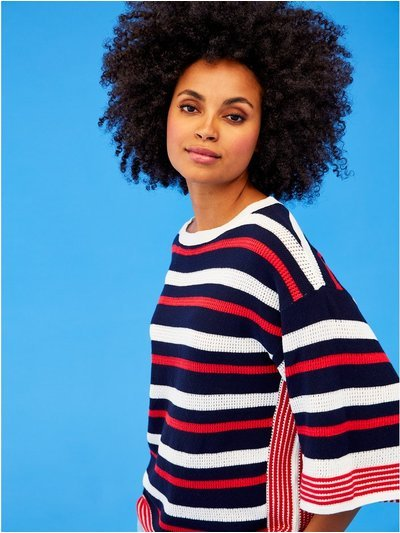 Khost Clothing stripe knitted top