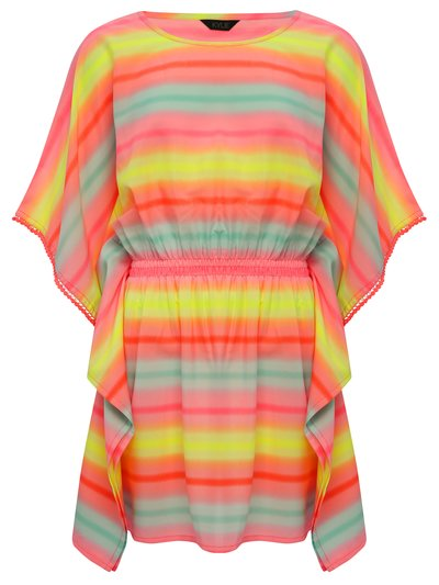 Teens' rainbow kaftan