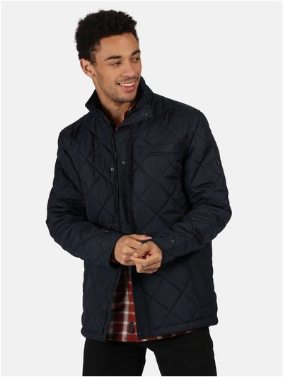 Locke Insulated Diamond Quilted Walking Jacket
