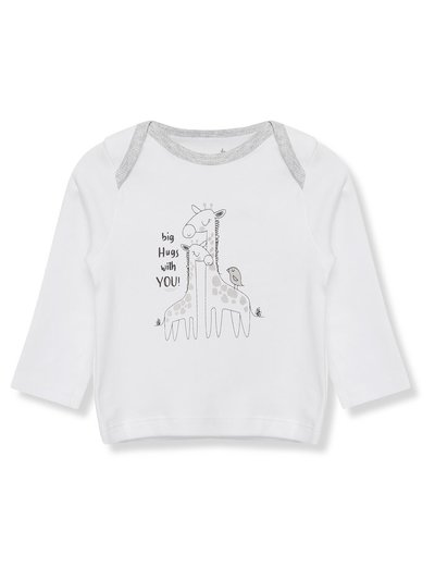 Giraffe t-shirt (Tiny baby - 18 mths)