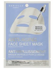 Anti-aging sheet face mask