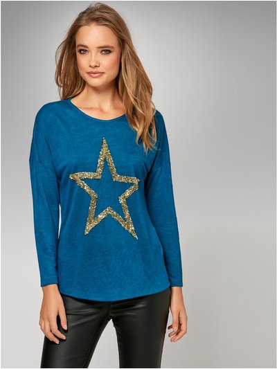 Sonder Studio star embellished t-shirt