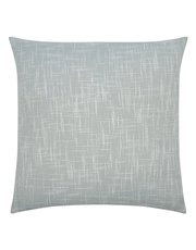 Grey woven cushion