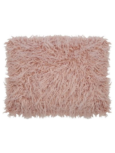 Pink mongolian cushion