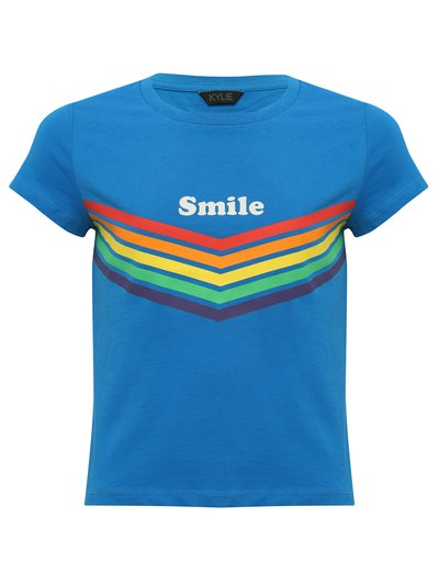 Teens' smile rainbow t-shirt
