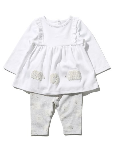 Sheep top and leggings set (Newborn-9mths)