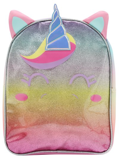 Glitter unicorn backpack
