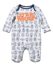 Star Wars print sleepsuit