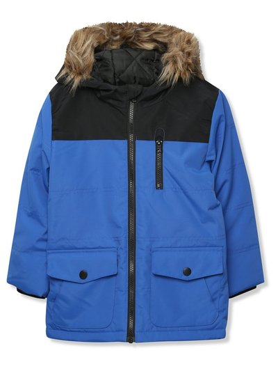 Quilted parka jacket (3-12yrs)