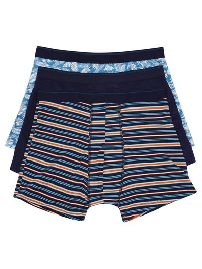 Stretch cotton trunks three pack