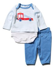 Fire truck body and joggers set