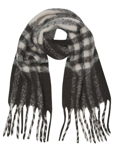 Teen check scarf
