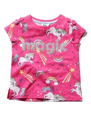 Glitter magic unicorn t-shirt