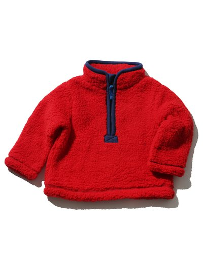 Half zip neck fleece