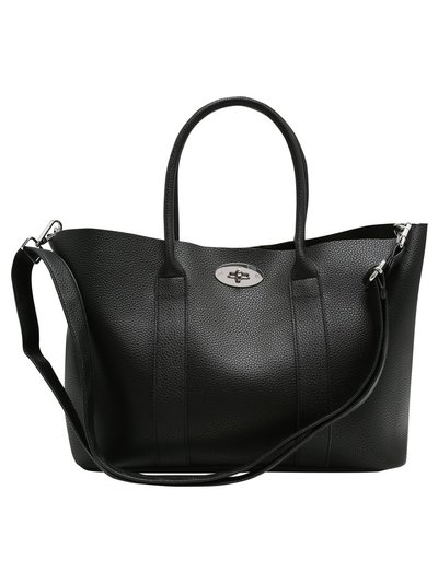 Twist lock tote bag