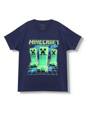 Minecraft creeper t-shirt (3-13yrs)