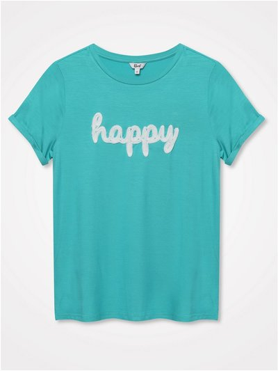 Khost Clothing happy slogan t-shirt